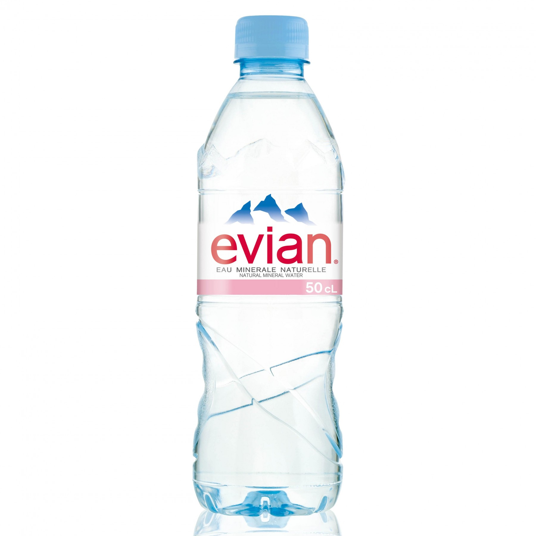 Evian Natural Mineral Water Pet 330ml/500ml