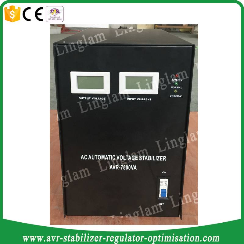 automatic voltage stabilizers 7.5kva