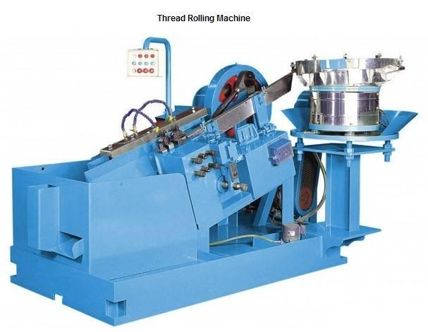 High quality thread rolling machine