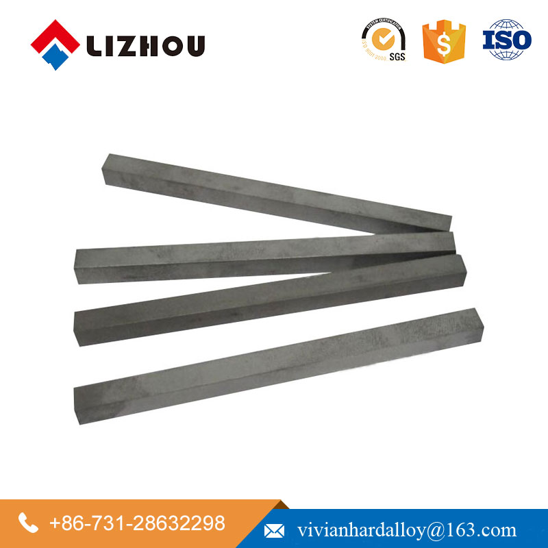 YG6 YG8 Cemented Tungsten Carbide Square Flat Bar for Solid Wood Cork