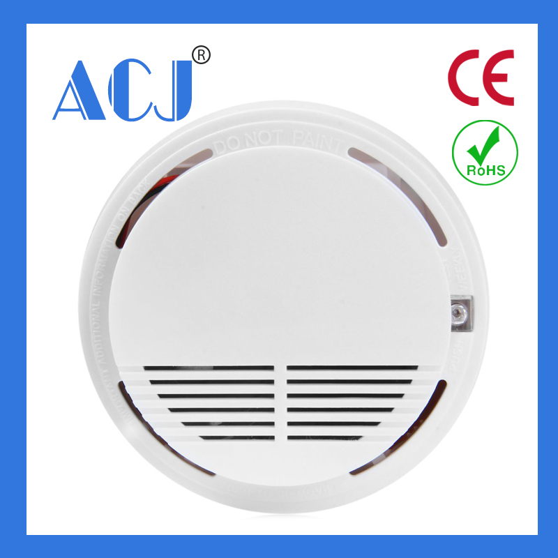 Wireless smoke detector fire alarm home usage