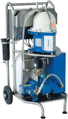 MARINE AND INDUSTRIAL OIL SEPARATOR/PURIFIER/CENTRIFUGE