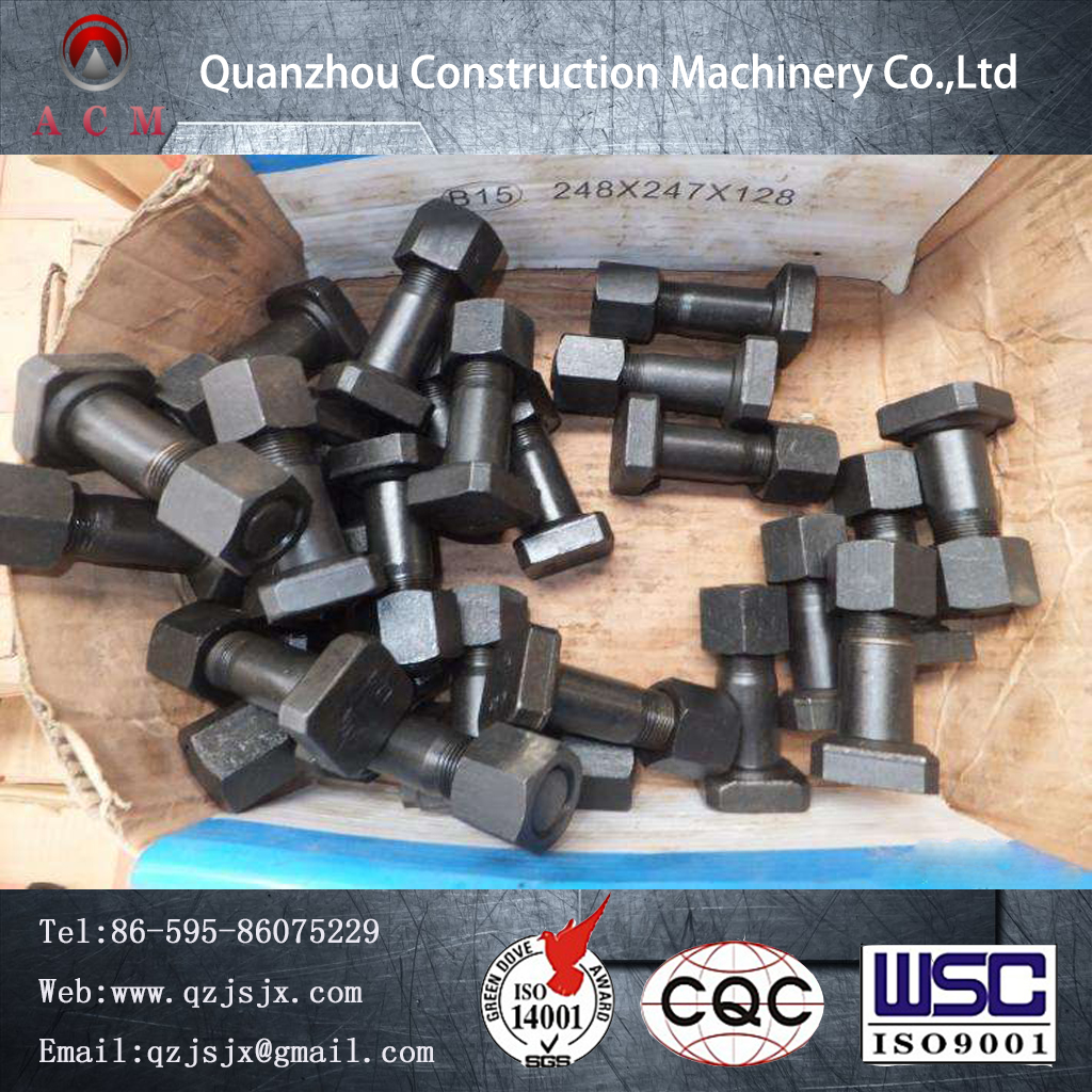 2017 China Supplier Construction Machinery Excavator Replacement Parts Bolt and Nut