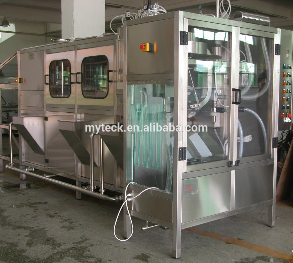 2L Water filling capping line/ automatic water bottle washing filling capping monobloc