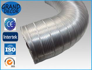 Semi-rigid flexible duct