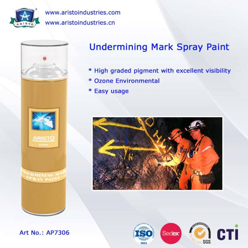 Aristo Underground Mark Paint / Mine Marking Paint