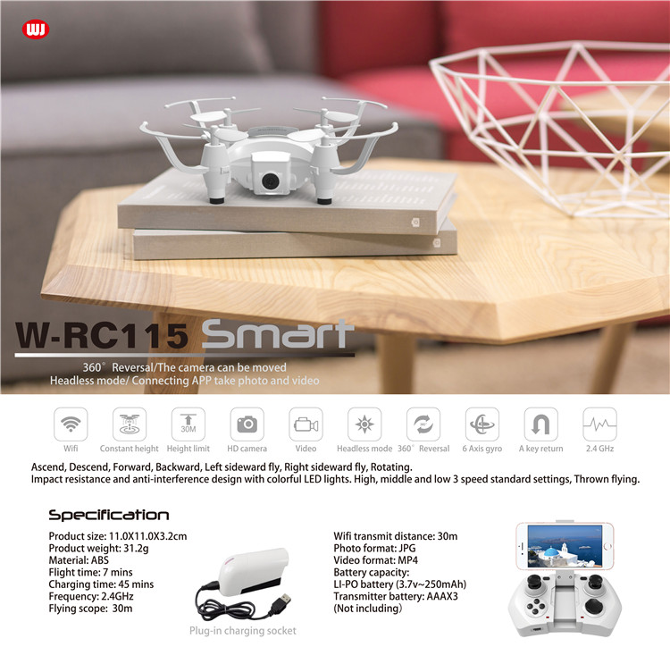 480P camera mini toy drone with Altitude hold
