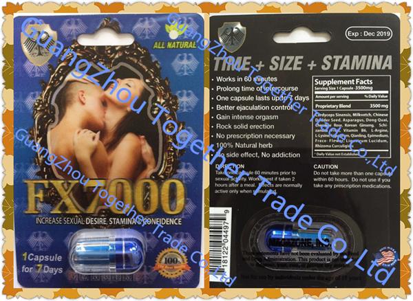 Fx 7000 Premium Triple Maximum Male Enhancer Herbal Sex Enlargement Pill