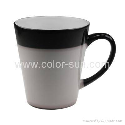 12oz Taper Color Changing Mug