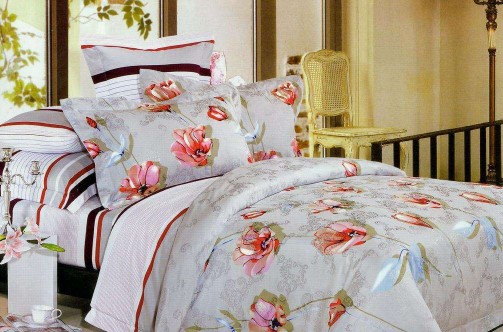 China supplier high quality reasonable price various types polyester bed sheet fabric