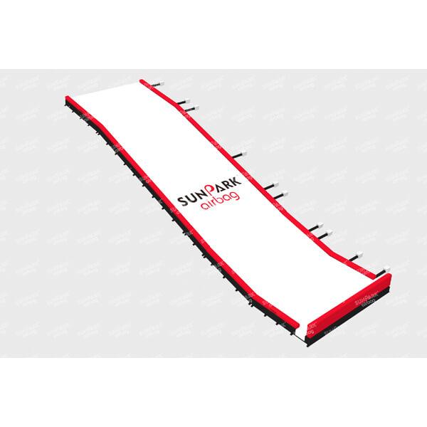 Olympic Size Snowboard Landing Bag for Ski Resorts