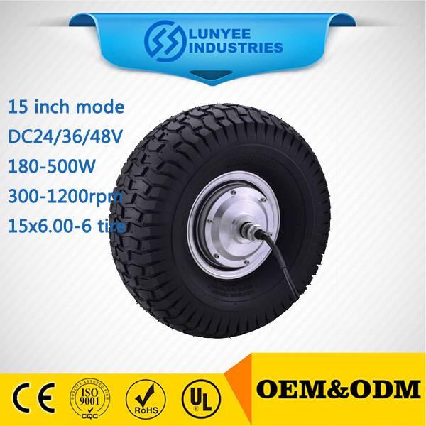 Smart balance wheel hub motor