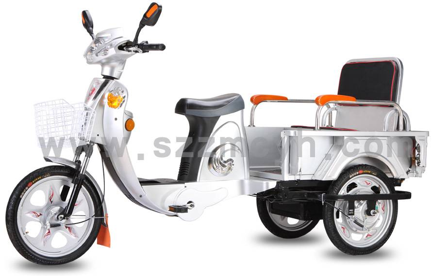 48V500W electric 3 wheeler bike tricycles for carrying heavy goods