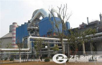 waste heat boiler for power generation
