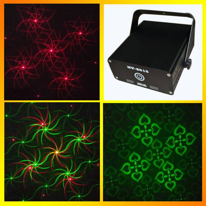 HT-2015RG stage laser light stage lighting equipment with multiple patterns and amazing effects