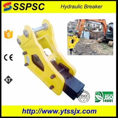 Classical triangle type SSPSC SB40 hydraulic breaker hammer for excavator backhoe loader skid steer