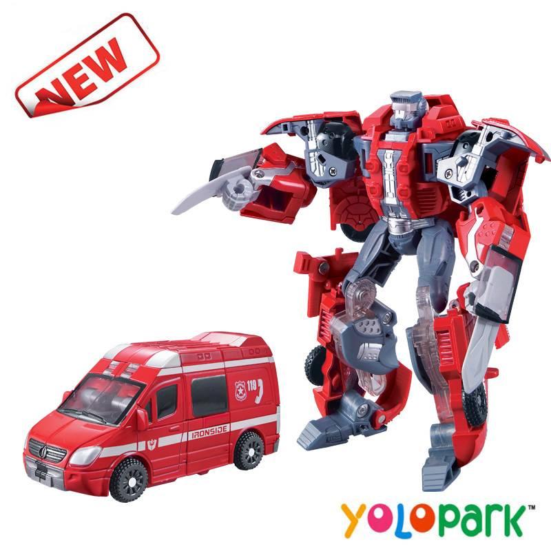 2016 Newest Items Intelligent Deformation Robot Ambulance
