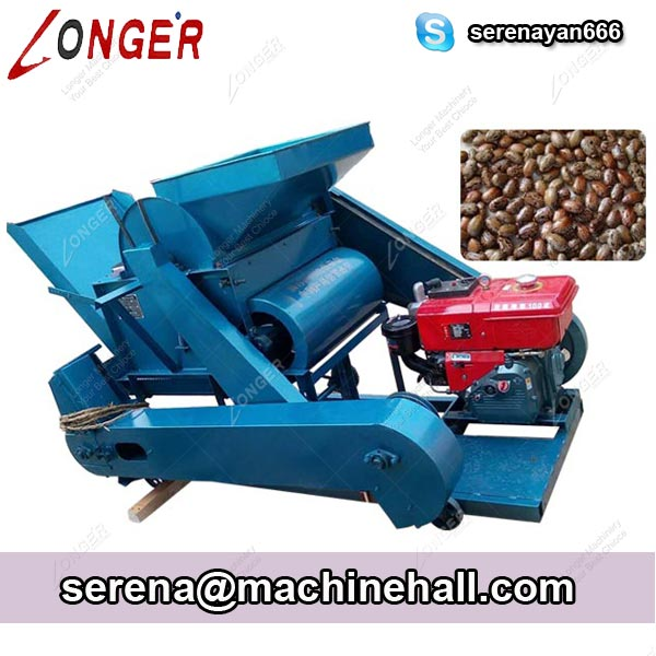 Castor Seed Shelling Machine|Castor Seed Huller|Castor Bean Sheller Machine