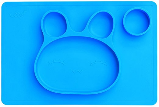 USSE baby silicone plate placemat