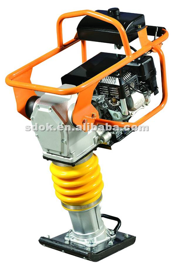 Electrical vibration tamping rammer/handheld electric portable tamping rammer compactor
