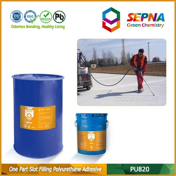 Single Component Polyurethane Slot Filling Adhesive PU820