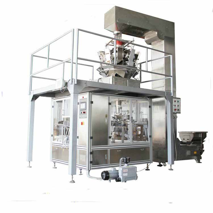 Pillow bag automatic vertical form fill seal machine