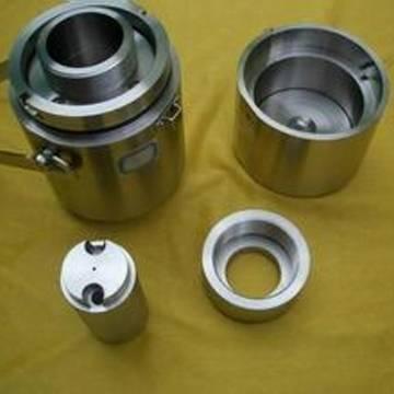 Tungsten Crucibles/radiation containator