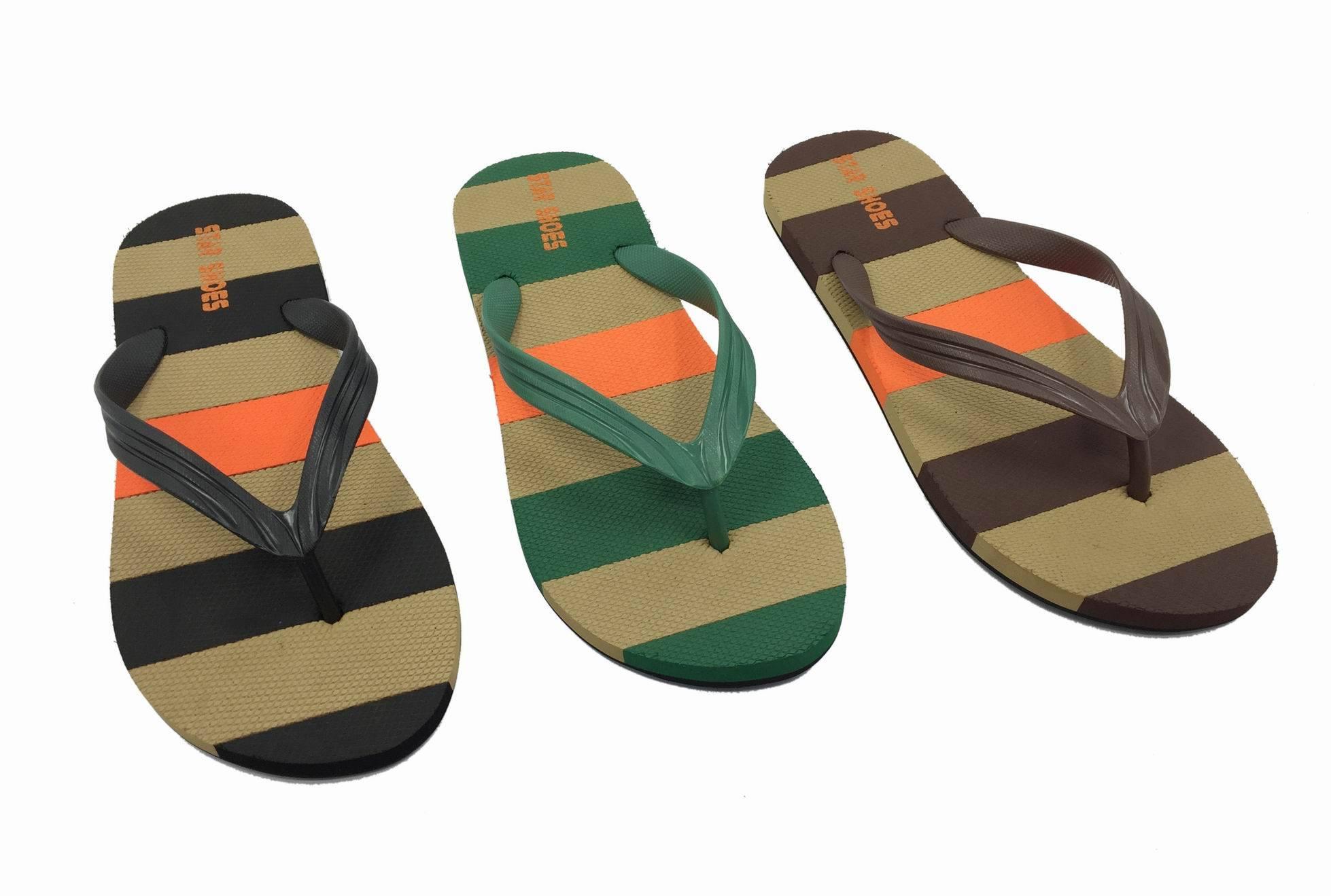 2016 men style custom eva flip flops