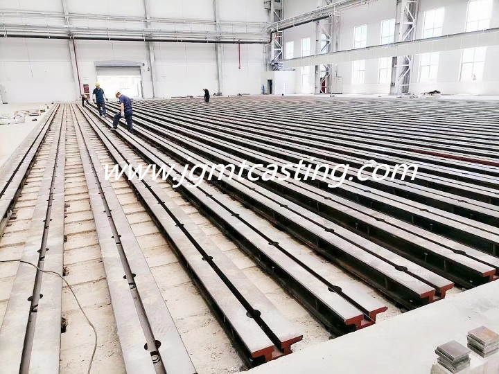 T-slotted Floor Clamping Rails
