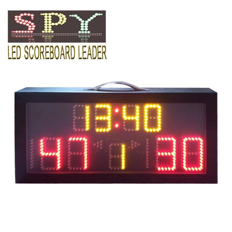 Protable electronic scoreboard use fo football,basketball and handball
