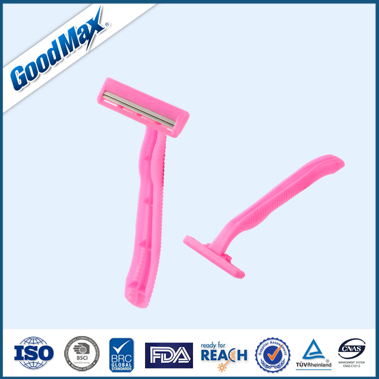 Free Samples Personal Care Twin Blade Disposable Razor