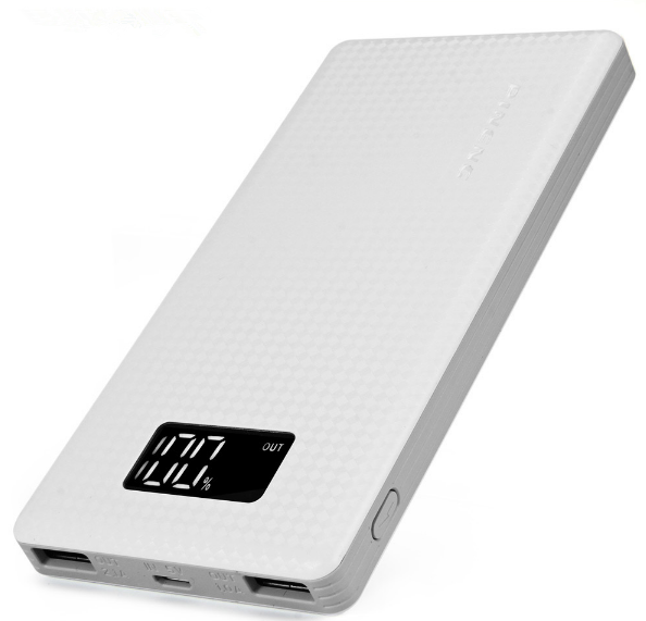 10000mAh Portable Battery Mobile Power Bank USB Charger Li-Polymer with LED Indicator