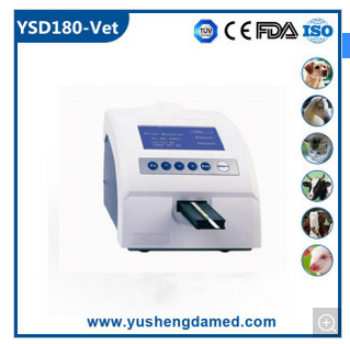 Ce Certified Hot Sale Diagnosis Medical Equipment Veterinary Urine Analyzer YSD180-Vet