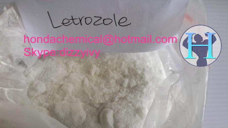 99.9% Anabolic Steroids Letrozole Anti-Estrogen Powder Letrozole Femara CAS 112809-51-5