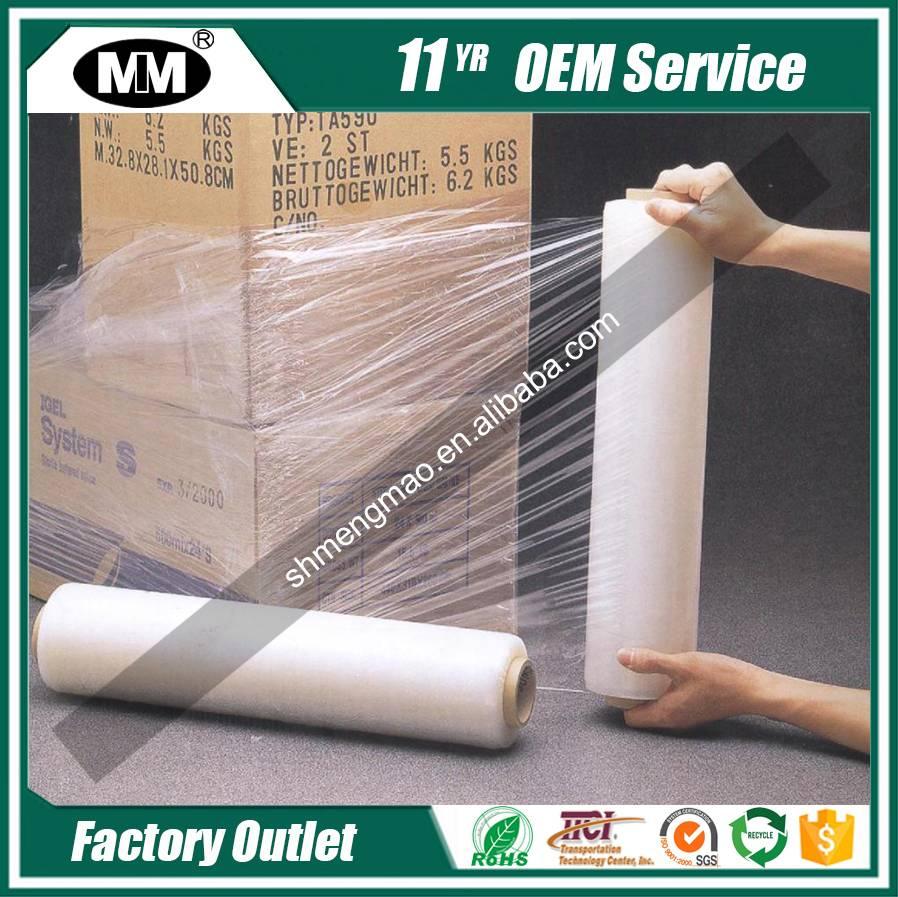 Quality primacy hot-sale manual stretch film shrink wrap film