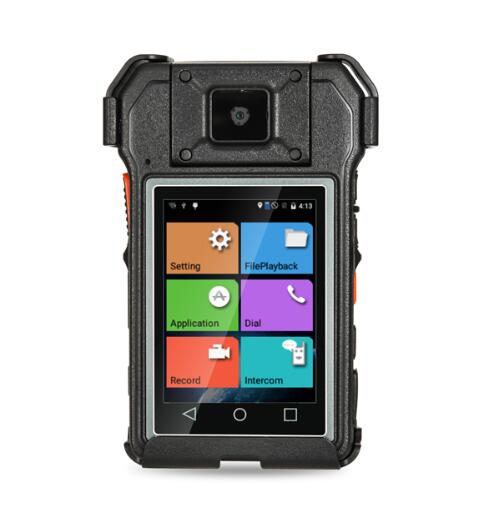 4G LTE Body camera for police