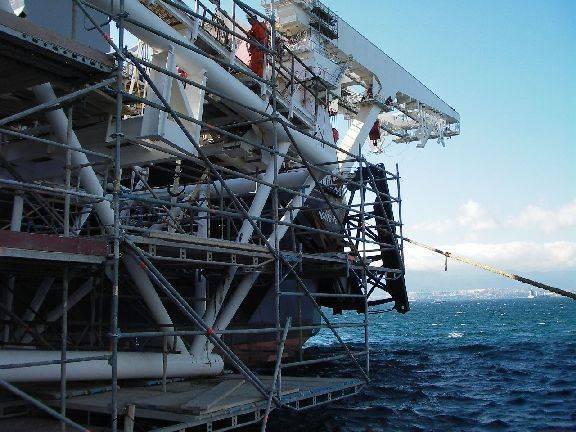 Layher allround scaffolding