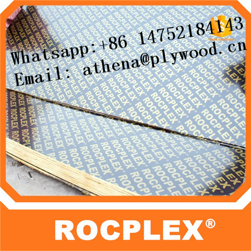 Rocplex film faced plywood, construction plywood, waterproof plywood