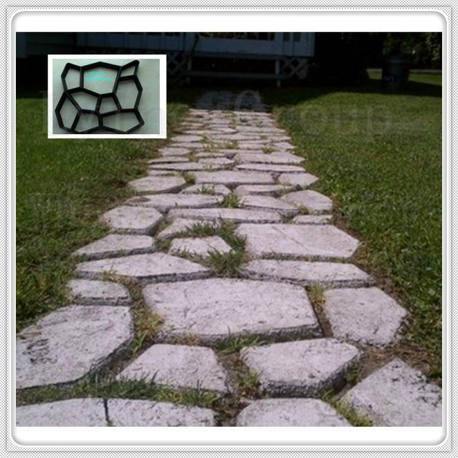 garden pavement Product and Plastic Product Material DIY brick mould