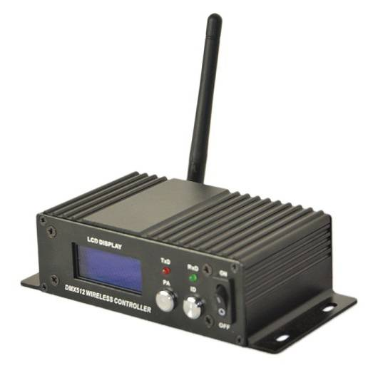 16 ID DMX Wireless Receiver/Transmitter