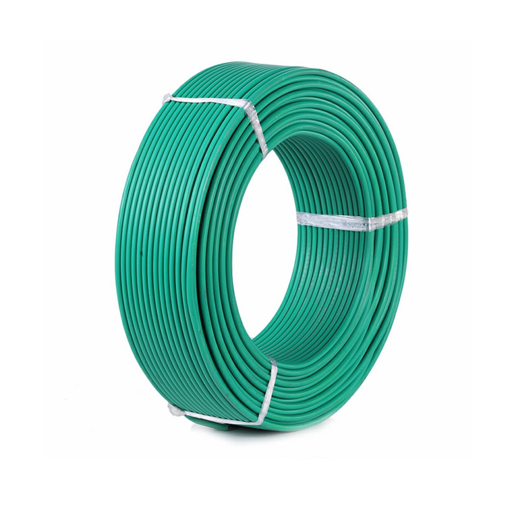 Solid copper conductor pvc insulation electrical wire