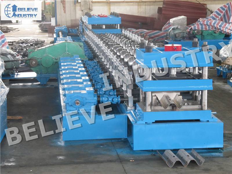 2-Wave Guardrail Roll Forming Machine
