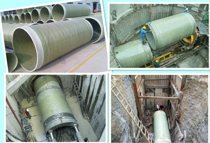 FRP/GRP jacking pipe
