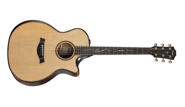 Taylor K14ce V-Class Builder's Edition Grand Auditorium Acoustic-Electric Guitar Kona Burst