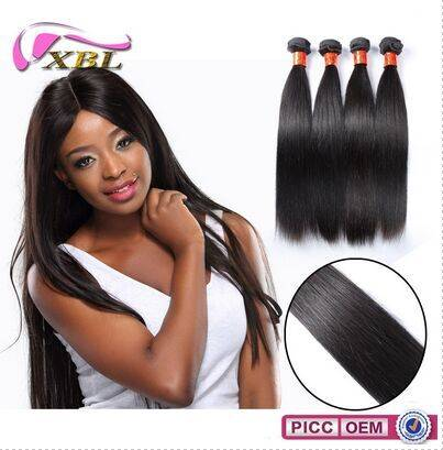Cheap New Fresh Unprocessed Virgin Remy Brazilian Natural Straight