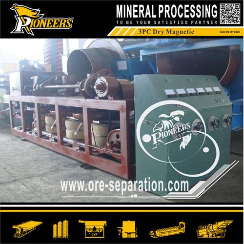 Coltan Upgrading Dry Belt type Magnetic Separator
