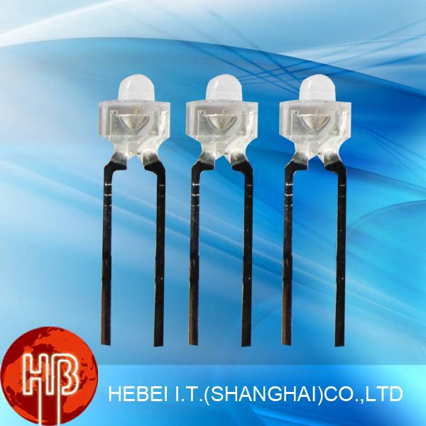 Water Clear Epistar Chip 1.8mm Led Diode Dip 130PWC