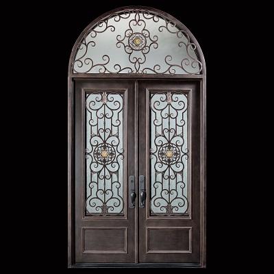 Professional iron door used/entry door