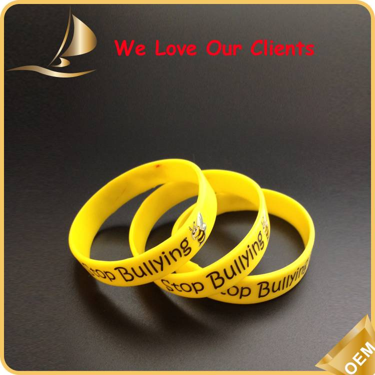 Hgih Quality Custom Silicone Wristbands