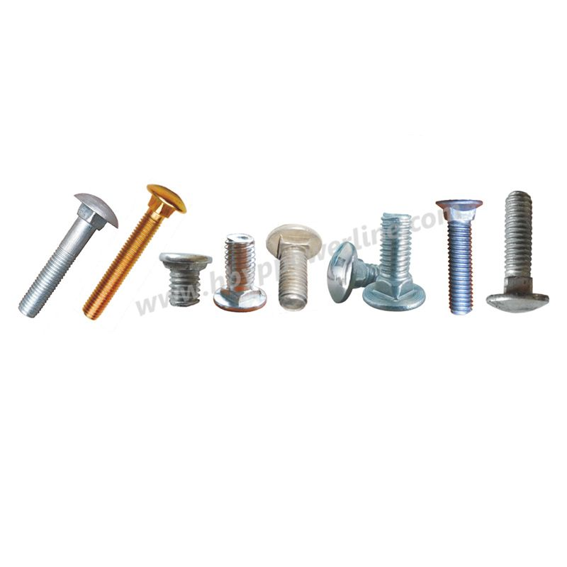 Carriage Bolt   Fastener  Electric Galvanize Bolt
